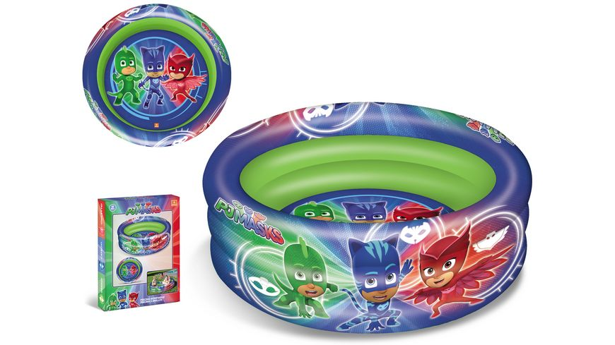 Mondo PJ Masks 3 Ring Pool