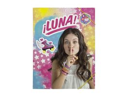 UNDERCOVER Gummizugmappe A4 Soy Luna
