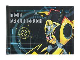 UNDERCOVER Freundebuch A5 Transformers 126 Seiten