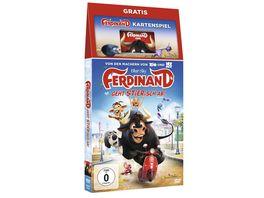 Ferdinand Geht STIERisch ab DVD incl Kartenspiel