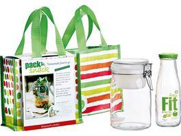 Snack und Packset 3 tlg