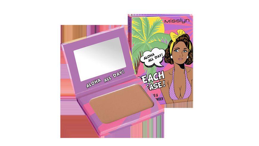 Misslyn beach please bronzing contouring powder