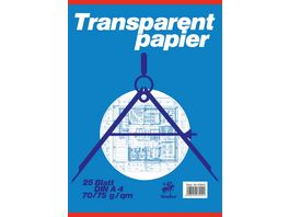 Staufen Transparentblock A4 25 Blatt