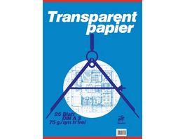 Staufen Transparentblock A3 25 Blatt