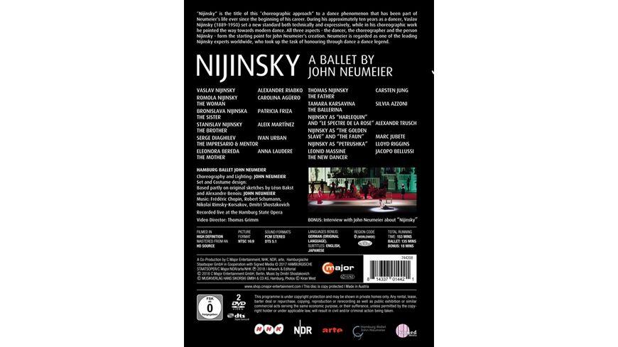 Nijinsky A Ballet by John Neumeier