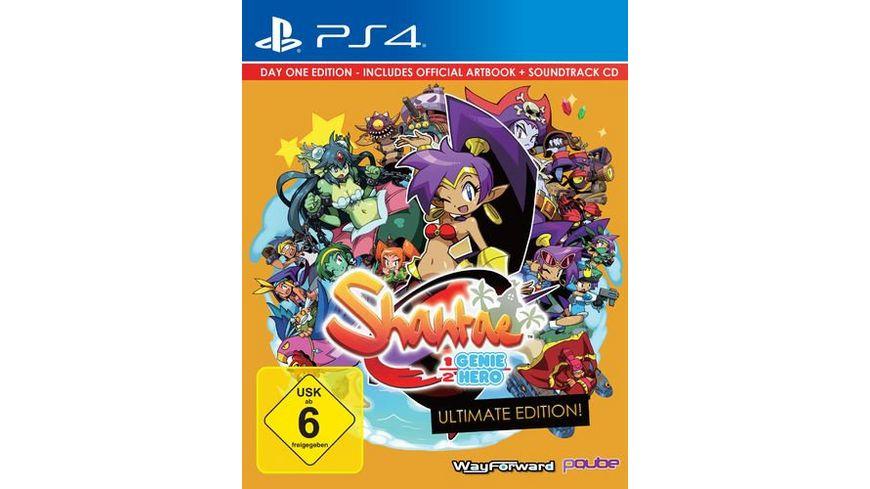 Shantae Half Genie Hero Day One Edition