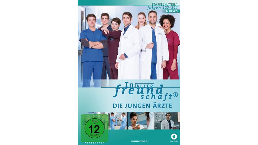 In aller Freundschaft Die jungen Aerzte Staffel 4 1 Folgen 127 144 6 DVDs