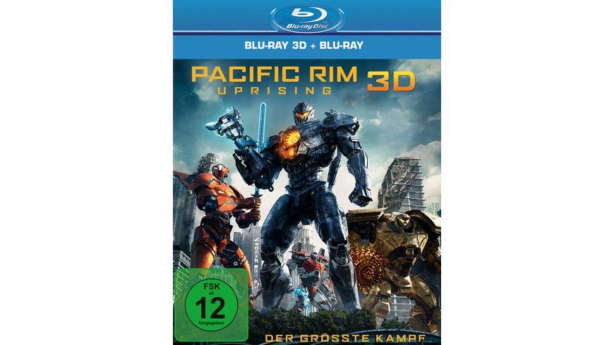 Pacific Rim Uprising Blu ray 2D