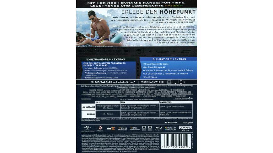 Fifty Shades of Grey Befreite Lust 4K Ultra HD Blu ray 2D