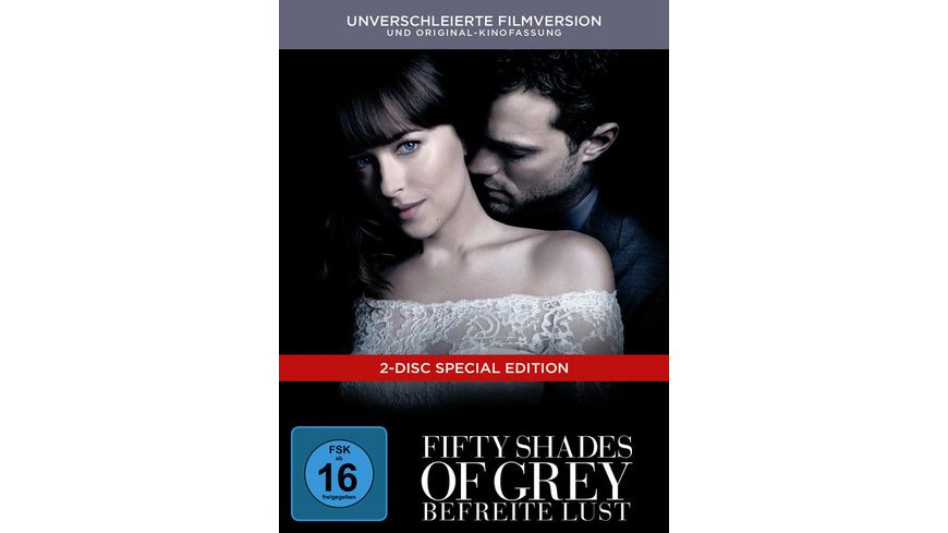 Fifty Shades of Grey Befreite Lust Limitierte Edition DigiBook 2 DVDs