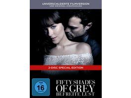 Fifty Shades of Grey Befreite Lust Limitierte Edition DigiBook 2 DVDs