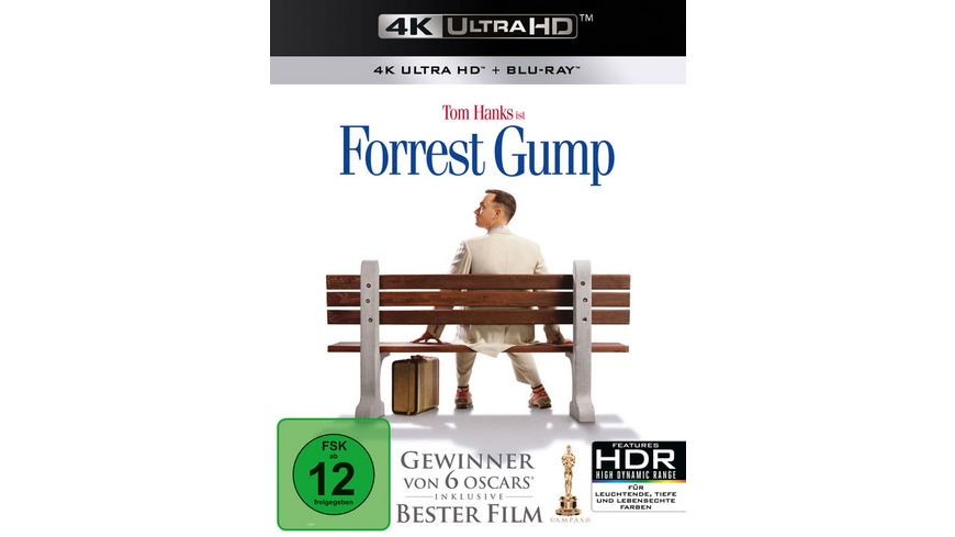 Forrest Gump 4K Ultra HD Blu ray 2D