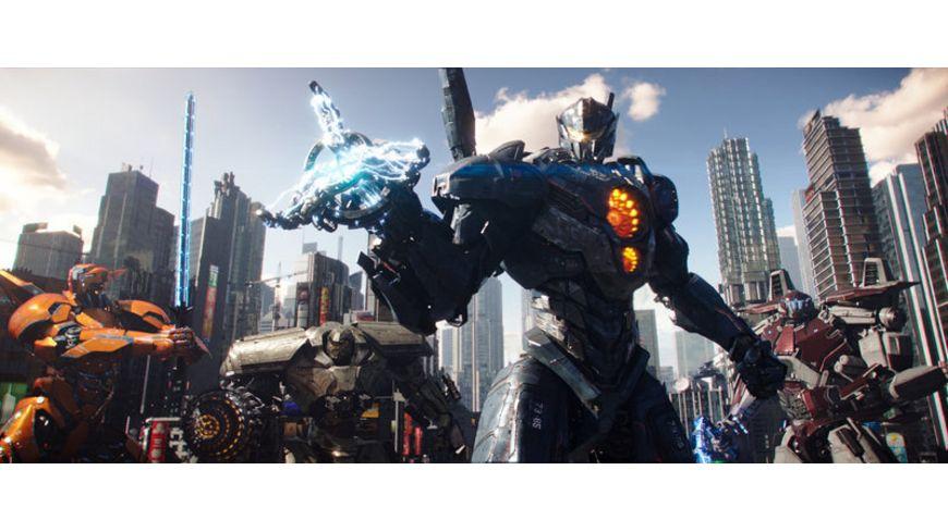 Pacific Rim Uprising 4K Ultra HD Blu ray 2D