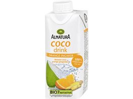 Alnatura Coco Drink Orange Ingwer