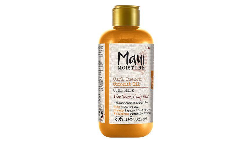 Maui Moisture Curl Quench Coconut Oil Curl Milk
