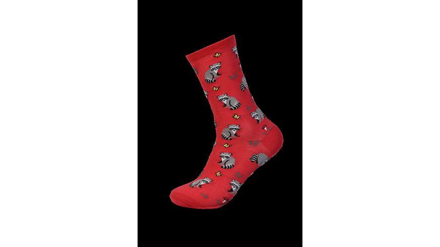 HOTSOX Damen Socken RACOON