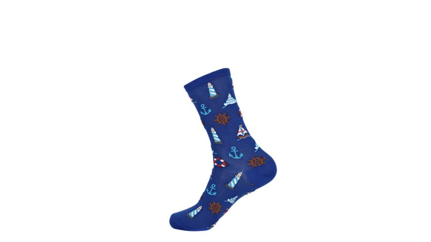 HOTSOX Damen Socken NAUTICAL ICONS