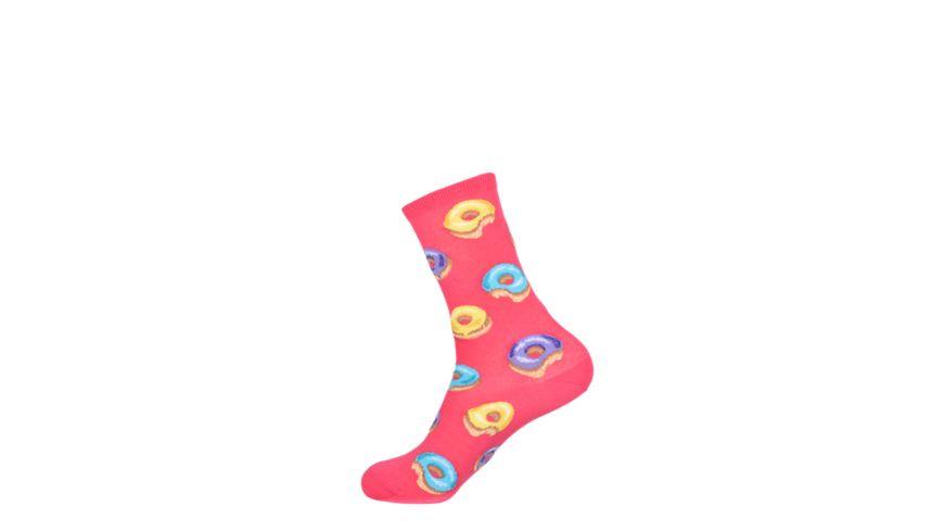 HOTSOX Damen Socken DONUT