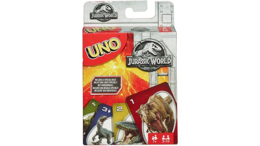 Mattel Games UNO Jurassic World