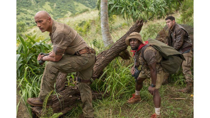 Jumanji Willkommen im Dschungel 4K Ultra HD Blu ray 2D