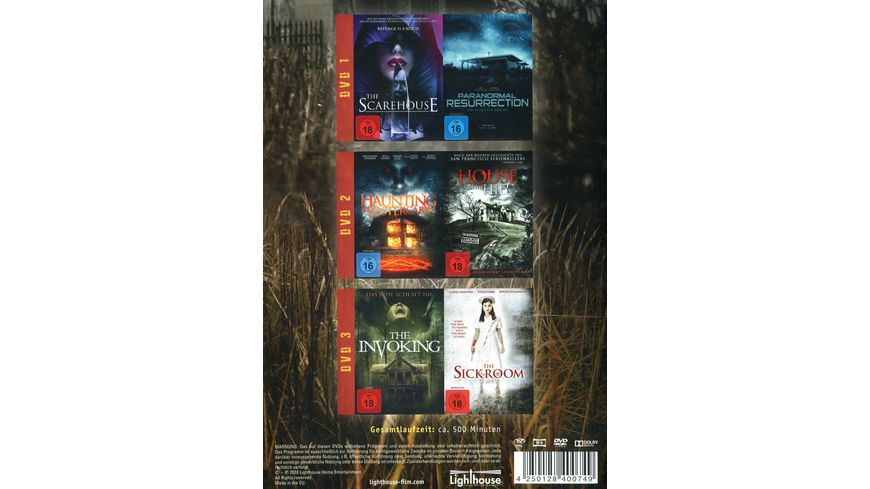 Houses of Horror 3 DVDs