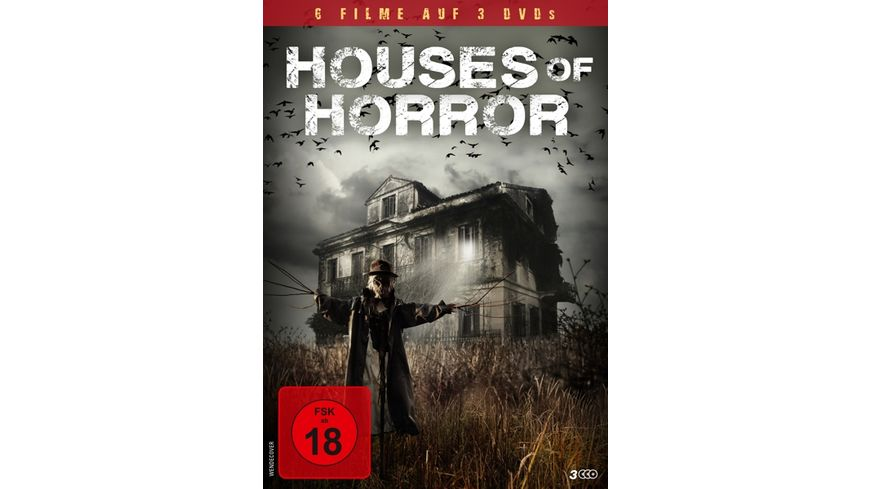 Houses of Horror 3 DVDs