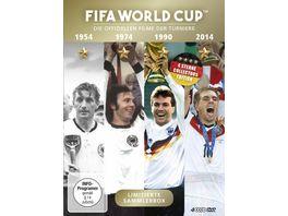 FIFA World Cup 54 74 90 14 Die offiziellen Filme der Turniere 4 DVDs
