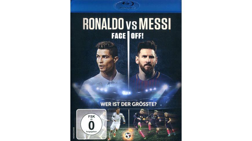 Ronaldo vs Messi Face Off