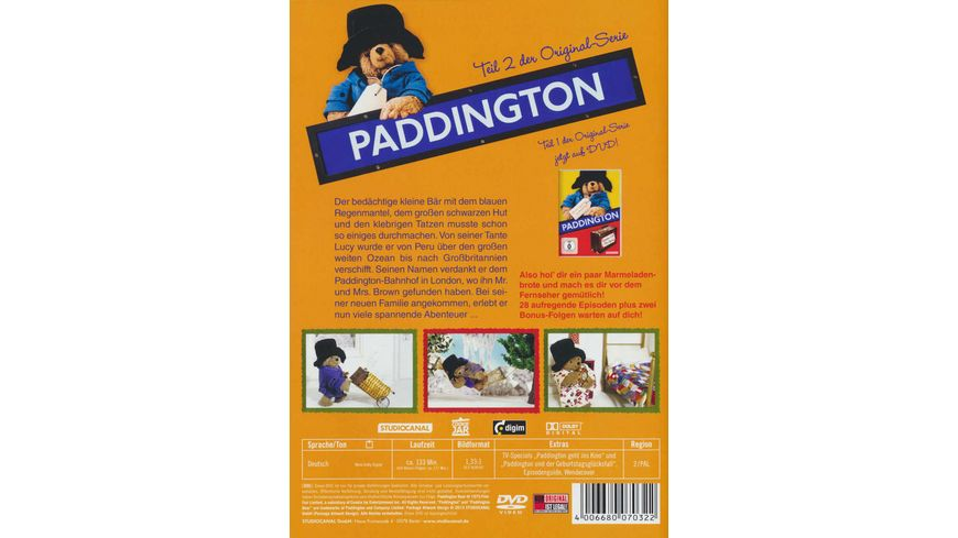 Paddington Teil 2