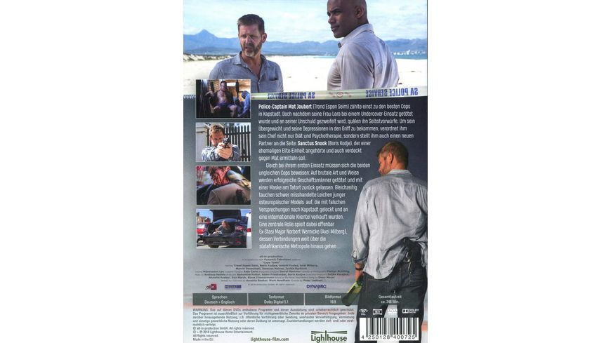 Cape Town Serienmord in Kapstadt 3 DVDs
