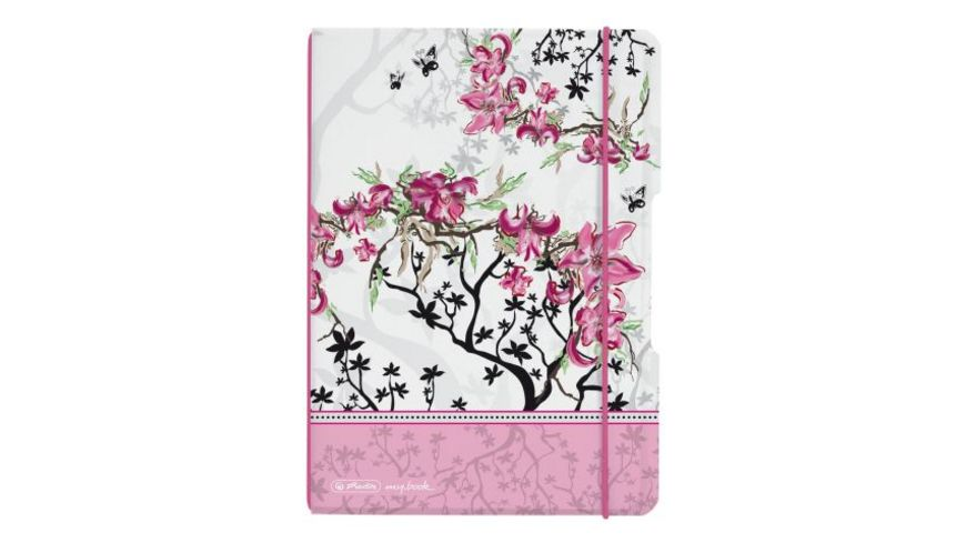 herlitz Notizheft flex LADYLIKE BLOOM