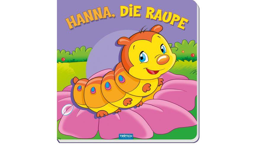 Bilderbuch Hanna die Raupe