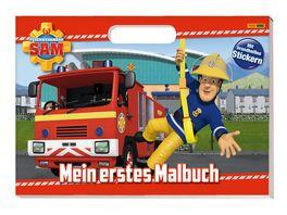 Buch Panini Feuerwehrmann Sam Mein erstes Malbuch