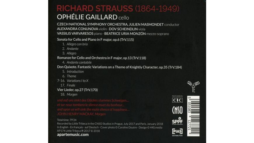 Don Quixote Cello Works