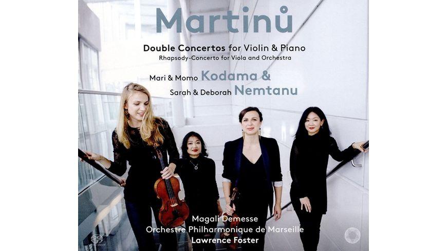 Doppelkonzerte fuer Violine Piano