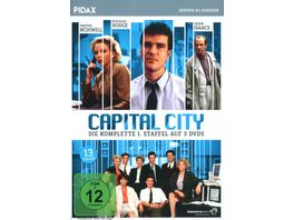 Capital City Staffel 1 3 DVDs