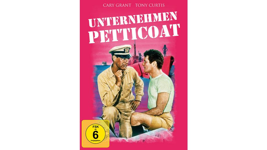 Unternehmen Petticoat Mediabook DVD LE