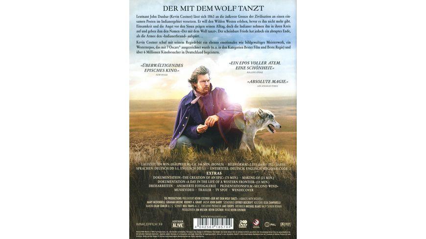 Der mit dem Wolf tanzt Kinofassung 2 DVDs