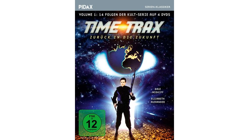 Time Trax Vol 1 4 DVDs