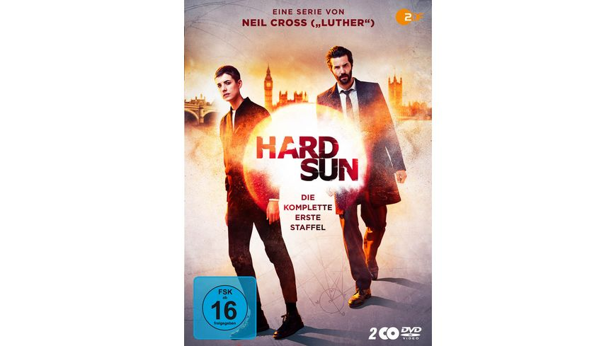 Hard Sun Staffel 1 2 DVDs
