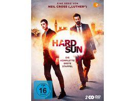 Hard Sun Staffel 1 Uncut 2 DVDs