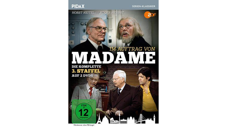 Im Auftrag von Madame Die komplette 3 Staffel der beliebten Krimi Serie Pidax Serien Klassiker 2 DVDs
