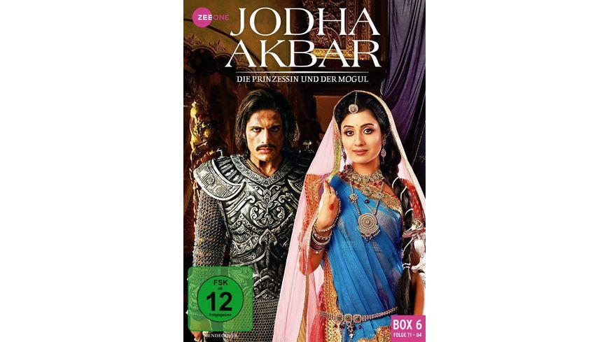 Jodha Akbar - Die Prinzessin und der Mogul - Box 6/Folge 71-84  [3 DVDs]