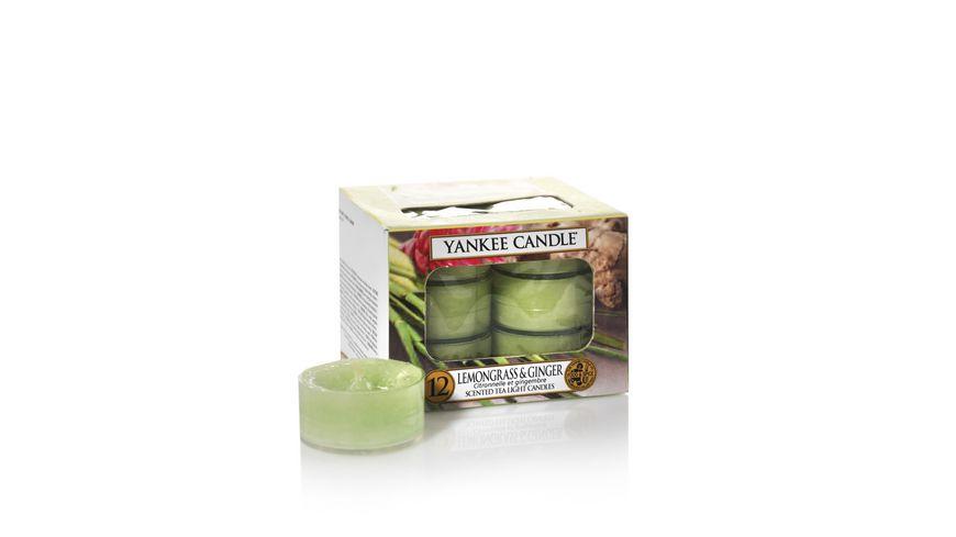 YANKEE CANDLE Lemongrass Ginger Teelicht