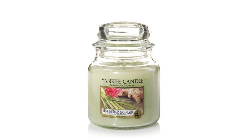 YANKEE CANDLE Lemongrass Ginger Mittleres Glas