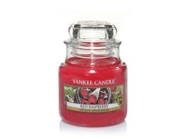 YANKEE CANDLE Kleine Kerze im Glas Red Raspberry