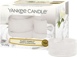 YANKEE CANDLE Fluffy Towels Teelicht