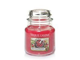 YANKEE CANDLE Mittelgrosse Kerze im Glas Red Raspberry