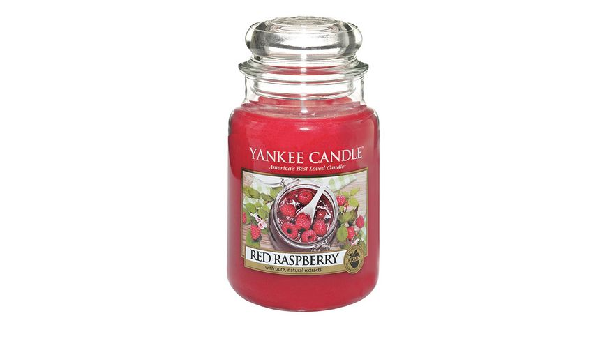 YANKEE CANDLE Red Raspberry Grosses Glas