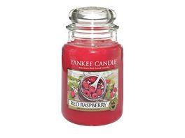 YANKEE CANDLE Grosse Kerze im Glas Red Raspberry